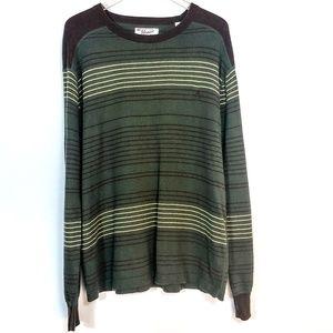 Original Penguin Stripe Cashmere Blend Sweater